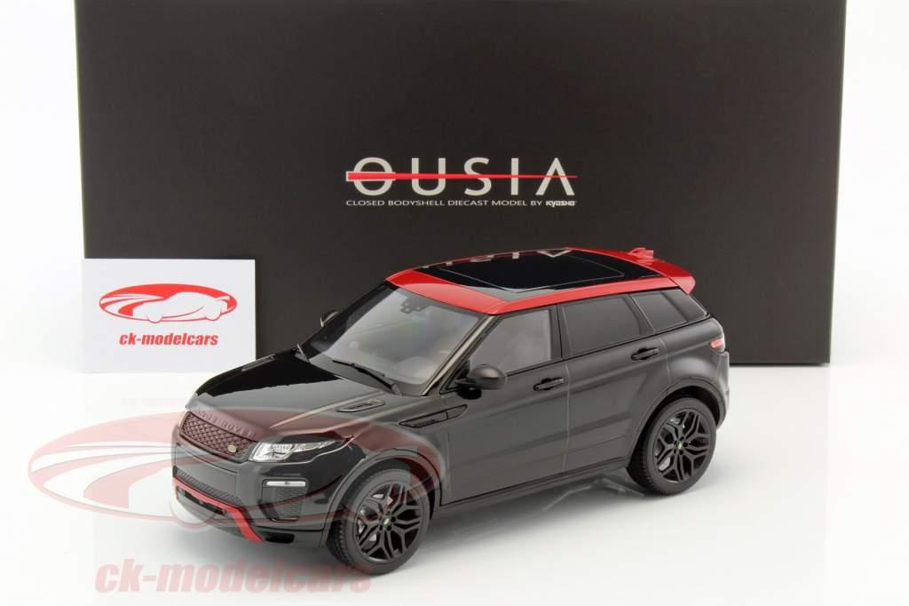 Range Rover Evoque HSE Dynamic Lux santorini black 1:18 Kyosho
