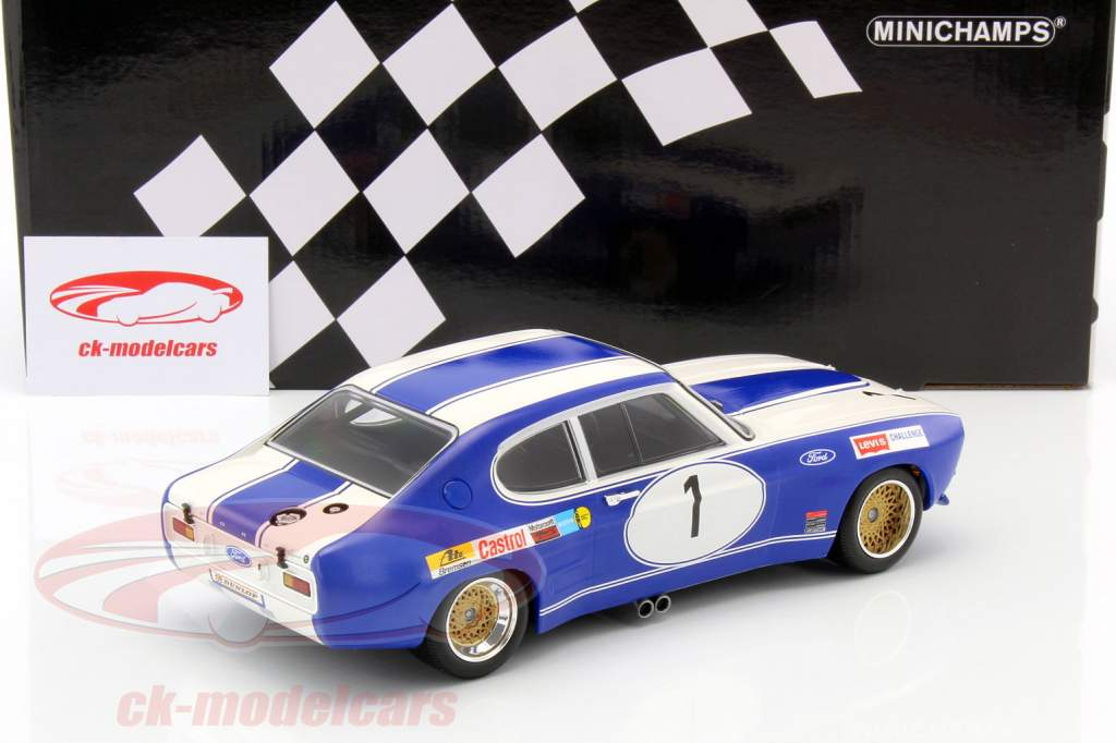 Ford Capri RS 2600 #1 Winner BRNO ETC 1972 Glemser 1:18 Minichamps