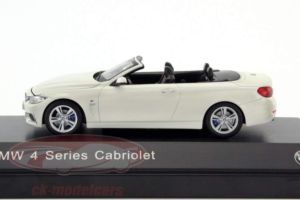 ck modelcars 80422336867 bmw 4er 4 series cabriolet f33 alpine white 1 43 iscale ean. Black Bedroom Furniture Sets. Home Design Ideas
