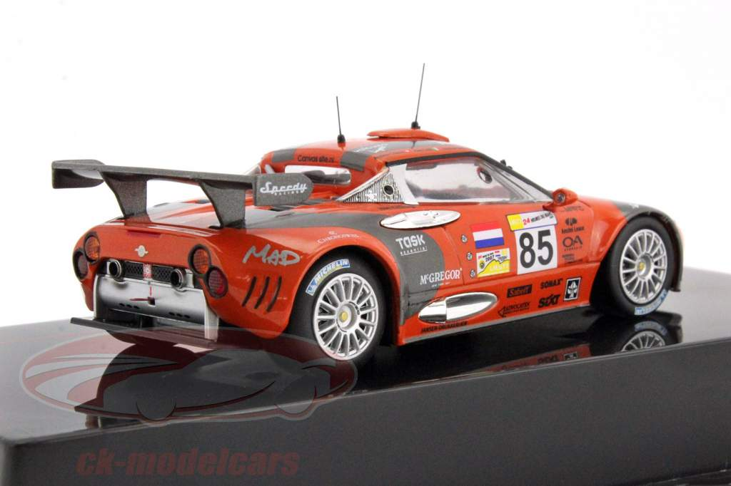 ck modelcars lmm225p spyker c8 spyder gt2r 85 24h lemans 2007 belicchi chiesa caffi 1 43. Black Bedroom Furniture Sets. Home Design Ideas
