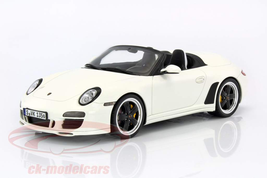 ck modelcars wax20140014 porsche 911 997 speedster white 1 18 gt spirit. Black Bedroom Furniture Sets. Home Design Ideas