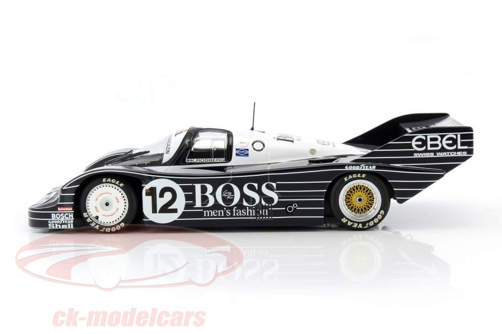 ck modelcars 155836612 porsche 956k 12 200 miles n rnberg 1983 rosberg 1 18 minichamps ean. Black Bedroom Furniture Sets. Home Design Ideas