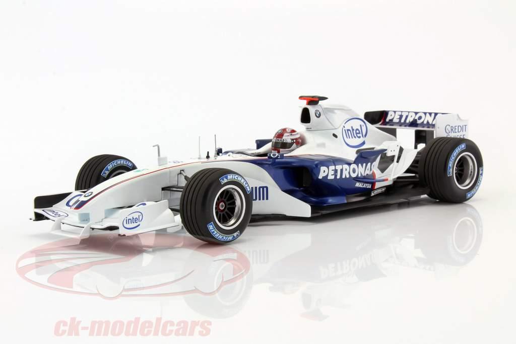 R. Kubica BMW Clean C24B #38 Formel 1 test Barcelona 2006 1:18 Minichamps