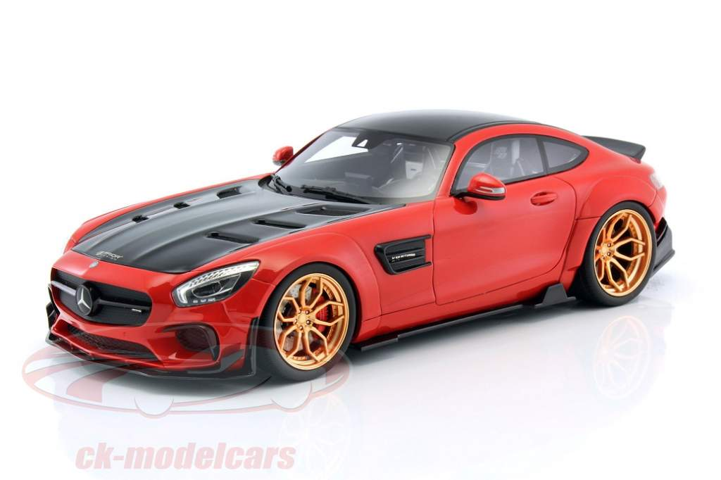 Mercedes-AMG GT modified from Prior Design