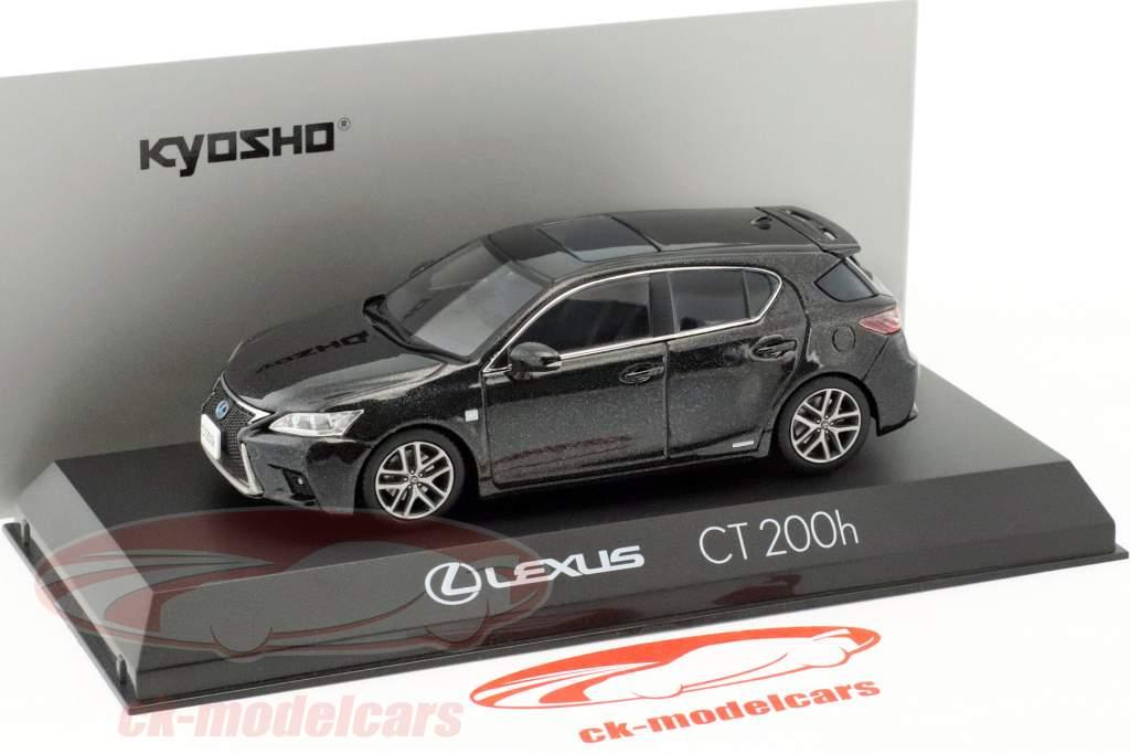 Lexus CT 200h Sport grafite nero 1:43 Kyosho