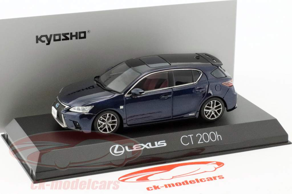 Lexus CT 200h F Sport Azul Escuro 1:43 Kyosho