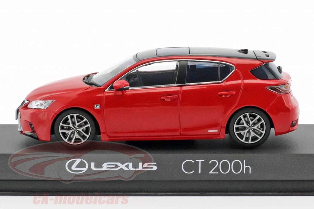 Lexus CT 200h Sport rot 1:43 Kyosho
