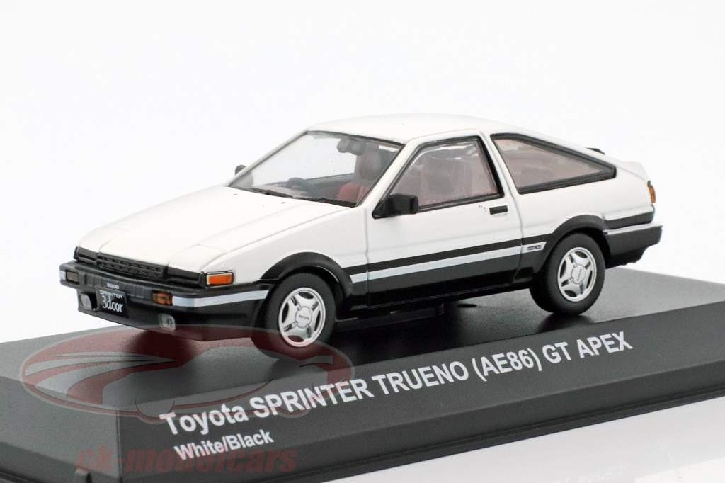 ck modelcars 3891w toyota sprinter trueno ae86 white. Black Bedroom Furniture Sets. Home Design Ideas