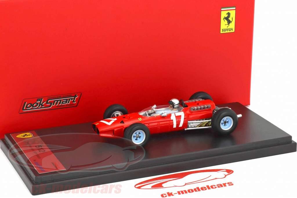 Lorenzo Bandini Ferrari 1512 #17 2 ° monaco GP formula 1 1965 1:43 LookSmart