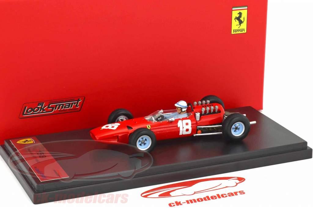 John Surtees Ferrari 158 #18 monaco GP formula 1 1965 1:43 LookSmart