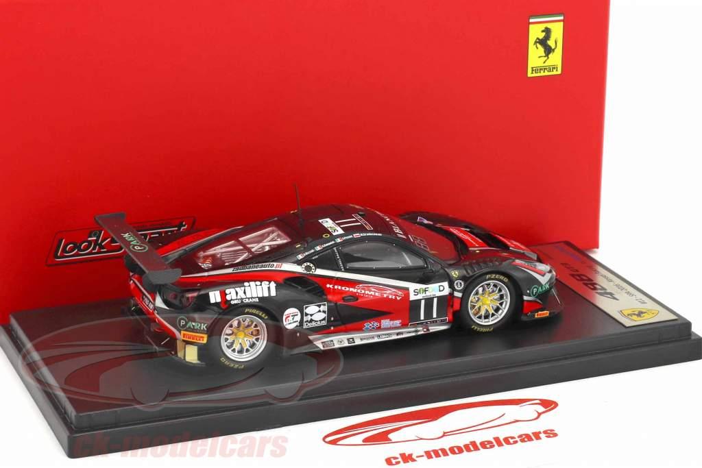 Ferrari 488 GT3 #11 24h Spa 2016 Bonacini, Broniszewski, Rizzoli, Piccini 1:43 LookSmart