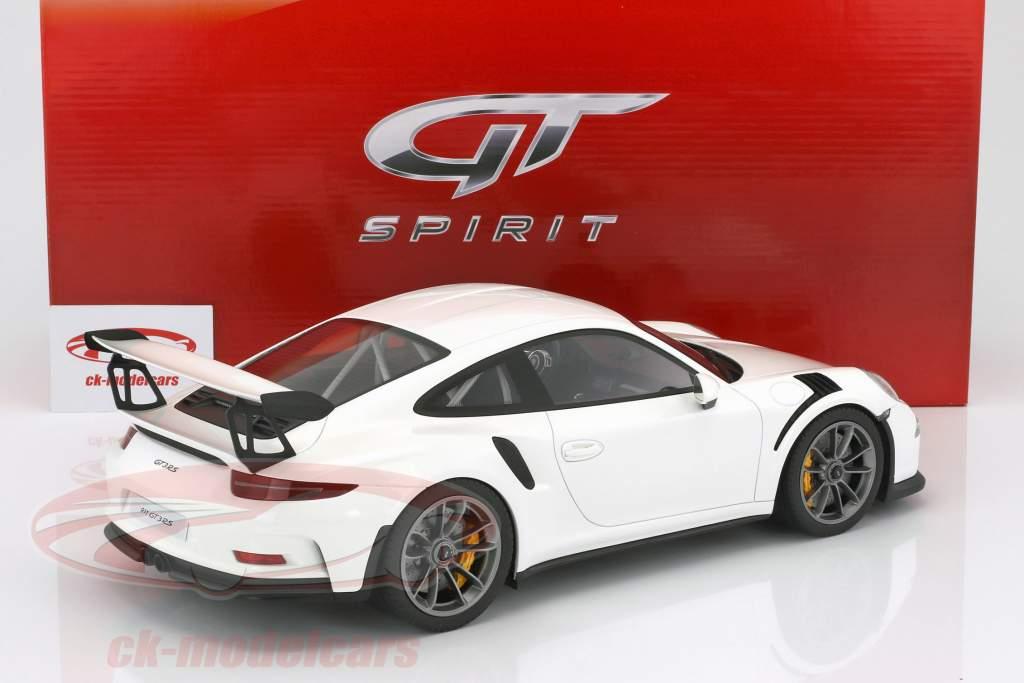 Porsche 911 (991) GT3 RS coupe year 2016 white 1:12 GT-Spirit