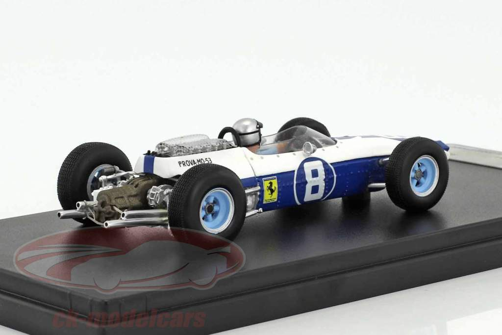 Lorenzo Bandini Ferrari 1512 #8 3 Mexique GP formule 1 1964 1:43 LookSmart