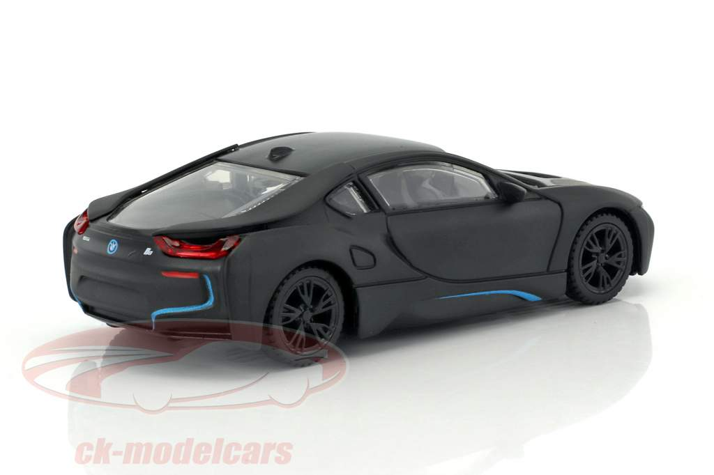 BMW i8 anno 2015 stuoia nero 1:43 Rastar
