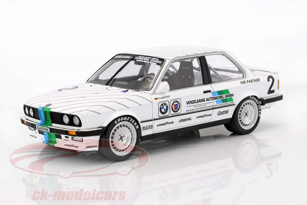 BMW 325i Vogelsang Automobile #2 3rd Eifelrennen DTM 1986 Olaf Manthey 1:18 Minichamps