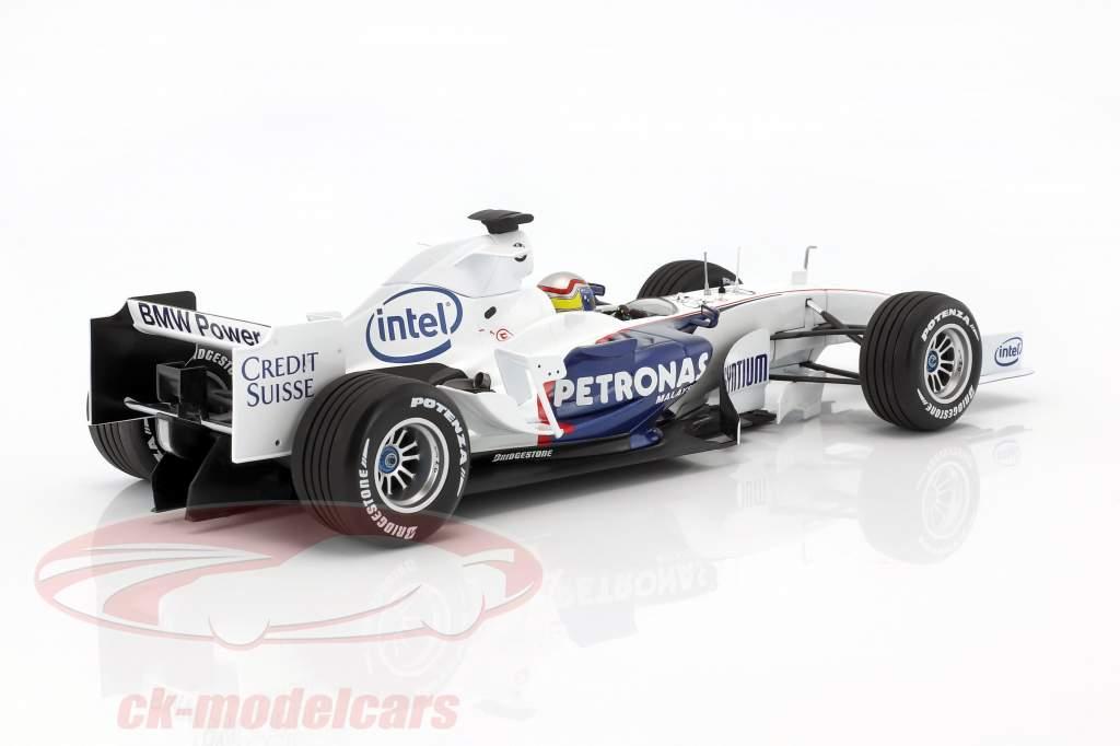 Alessandro Zanardi Sauber BMW C24B novembre prova Valencia formula 1 2006 1:18 Minichamps