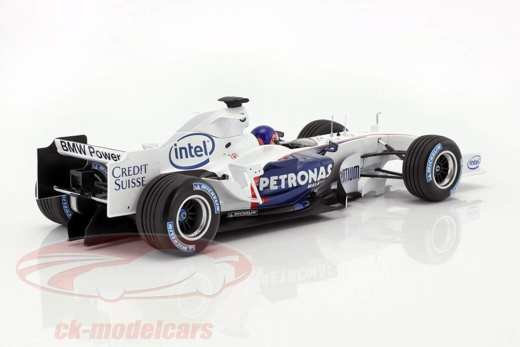 Jacques Villeneuve Sauber BMW C24B #17 February test Valencia formula 1 2006 1:18 Minichamps