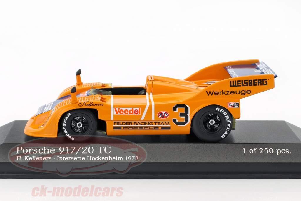 Porsche 917/20 TC#3 Interserie Hockenheim 1973 Helmut Kelleners 1:43 Minichamps