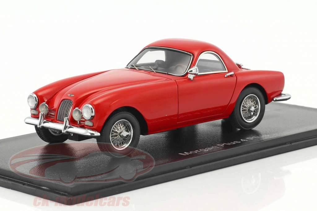 Morgan Plus 4 Plus red 1:43 Neo