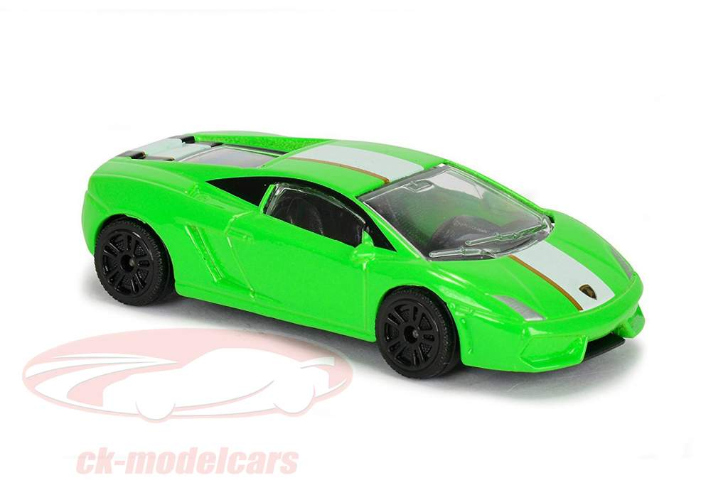 Creatix Rennbahn Lamborghini Race mit 2 Modellautos 1:64 Majorette