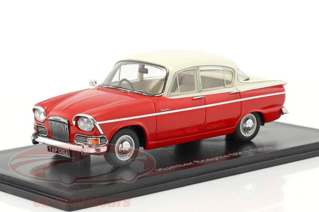 Humber Sceptre MK I year 1963 red / white 1:43 Neo