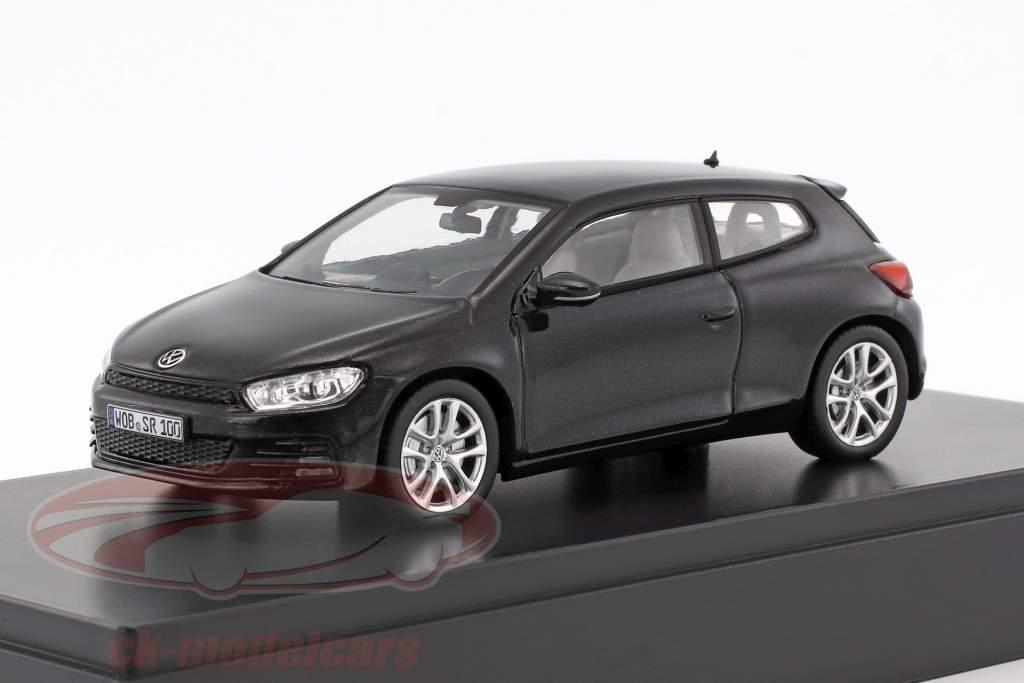 Volkswagen VW Scirocco schwarz metallic 1:43 Norev