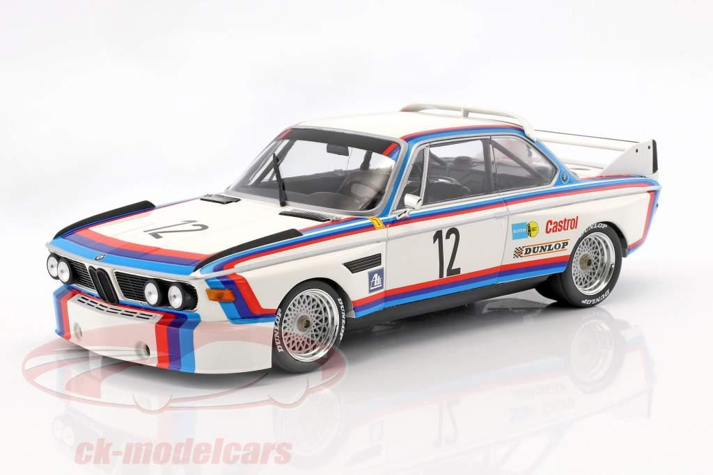 BMW 3.0 CSL #12 gagnant 6h Nürburgring 1973 Amon / Stuck 1:18 Minichamps