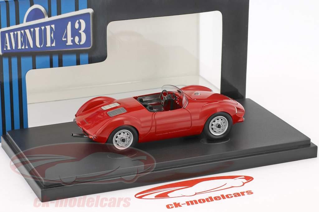 Sauter Porsche Bergspyder anno di costruzione 1957 rosso 1:43 AutoCult