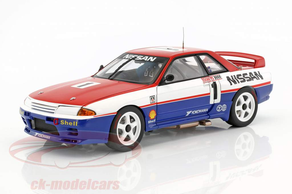 Nissan Skyline GT-R (R32) #1 Bathurst Winner 1991 Skaife, Richards 1:18 AUTOart