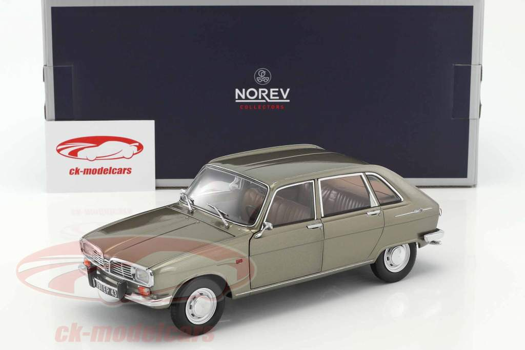 Renault 16 year 1968 grey metallic 1:18 Norev