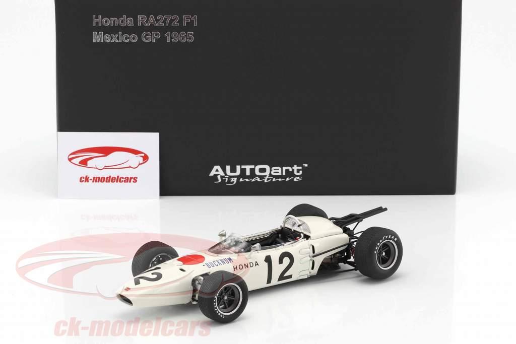 Ronnie Bucknum Honda RA272 #12 Messico GP formula 1 1965 1:18 AUTOart