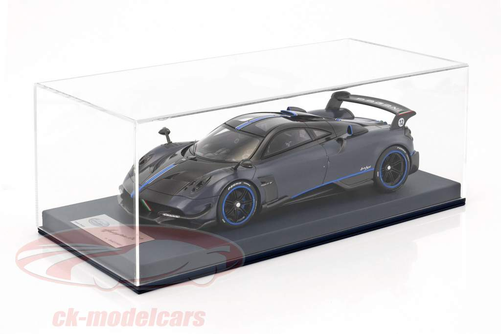 Pagani Huayra BC with showcase blue / carboxylic 1:18 LookSmart