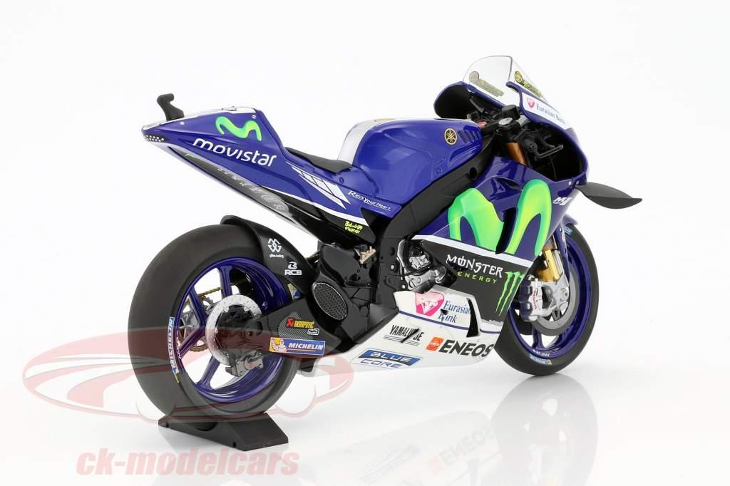 Valentino Rossi Yamaha YZR-M1 #46 Winner MotoGP Catalunya 2016 1:12 Minichamps