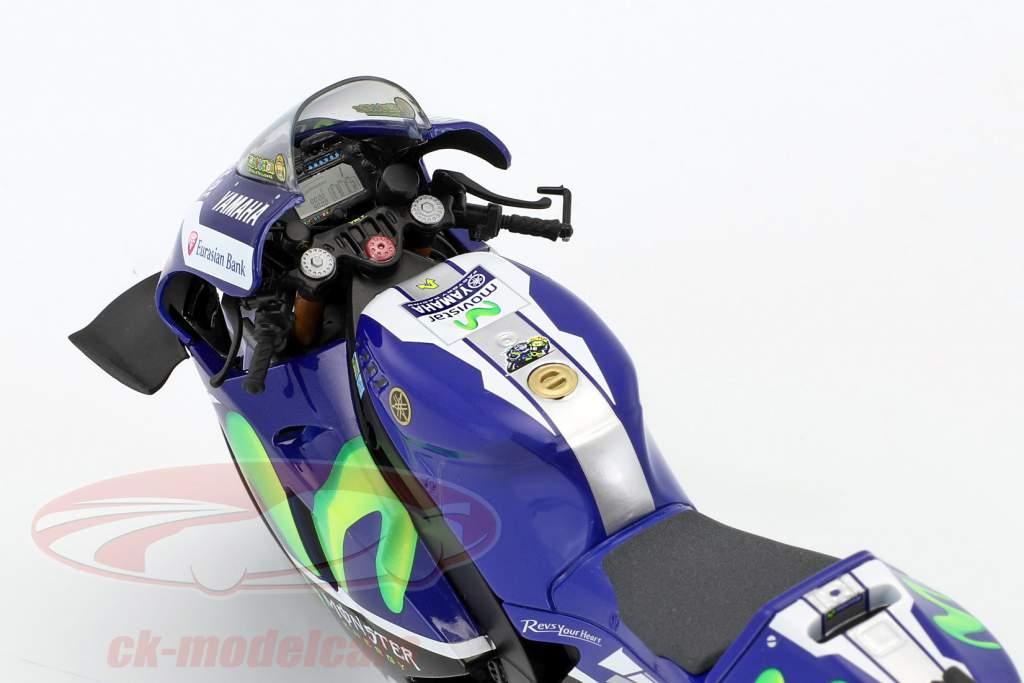 Valentino Rossi Yamaha YZR-M1 #46 Sieger MotoGP Katalonien 2016 1:12 Minichamps