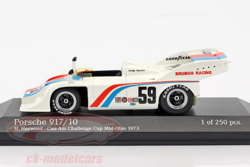 Porsche 917/10 #59 3rd Can-Am Challenge Mid-Ohio 1973 Haywood 1:43 Minichamps