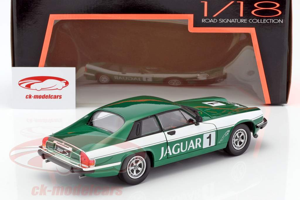 Jaguar XJS #1 green / white 1:18 Lucky DieCast