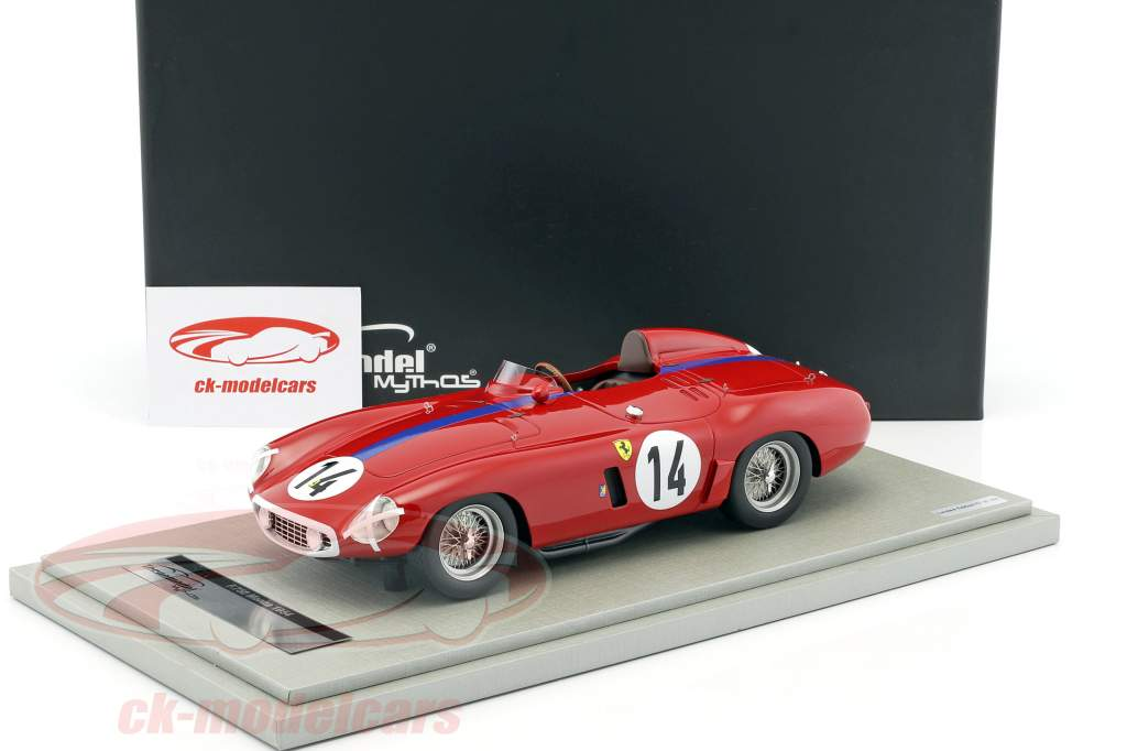 Ferrari F750 Monza #14 24h LeMans 1955 Gregory, Sparken 1:18 Tecnomodel