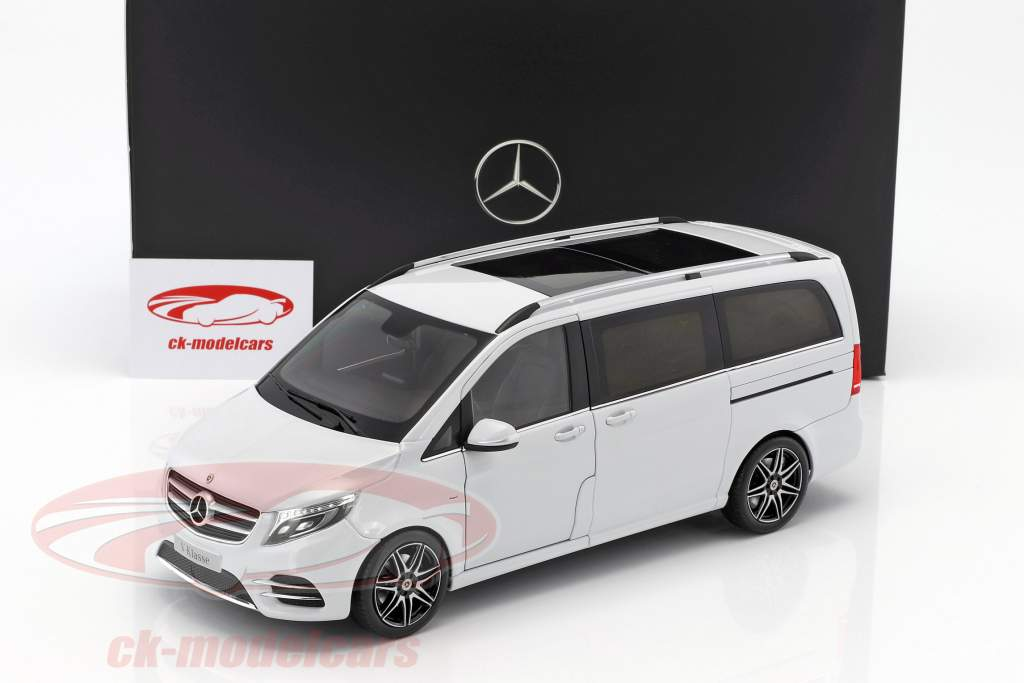 ck modelcars b66004156 mercedes benz v class rock crystal white 1 18 norev. Black Bedroom Furniture Sets. Home Design Ideas