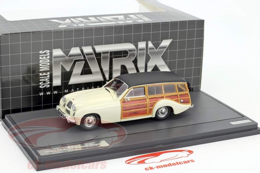 Allard P2 Safari Station Wagon year 1954 cream / black 1:43 Matrix