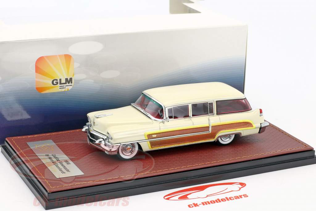 Cadillac Viewmaster by Hess and Eisenhardt année de construction 1956 beige 1:43 GLM