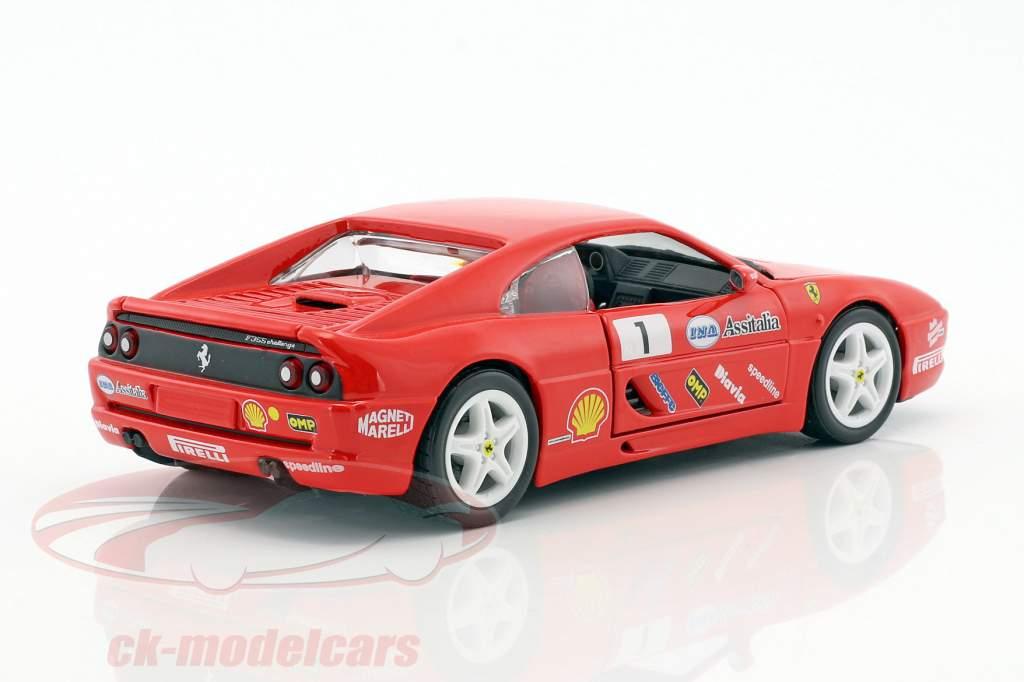 Ferrari F355 Challenge #1 red 1:24 Bburago