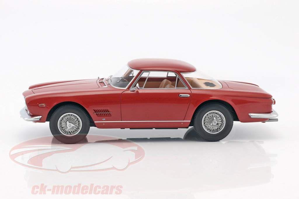 Maserati 5000 GT Allemano year 1960 red 1:18 BoS-Models