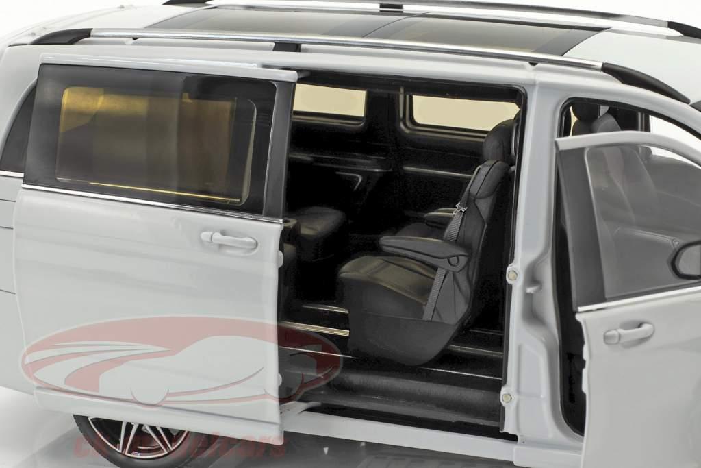 Mercedes-Benz V-Class cristal de roche blanc 1:18 Norev