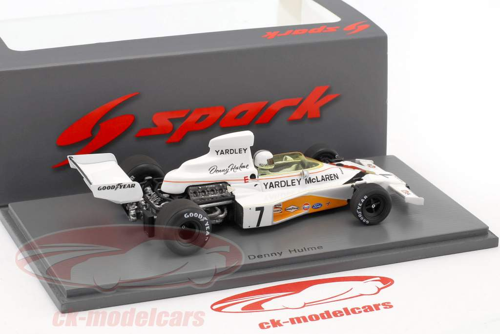 Denis Hulme McLaren M23 #7 Winner Swedish GP formula 1 1973 1:43 Spark