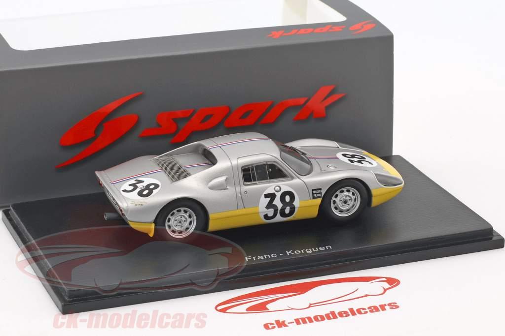 Porsche 904 #38 24h LeMans 1965 Dewez, Kerguen 1:43 Spark