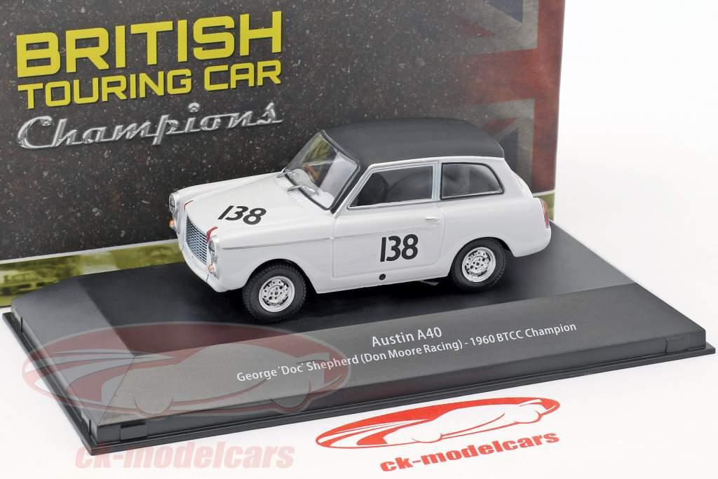 Austin A40 #138 BTCC champion 1960 George Shepherd 1:43 Atlas