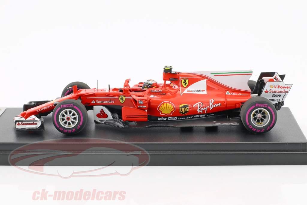 Kimi Raikkonen Ferrari SF70H #7 4th Australian GP Formel 1 2017 1:43 LookSmart