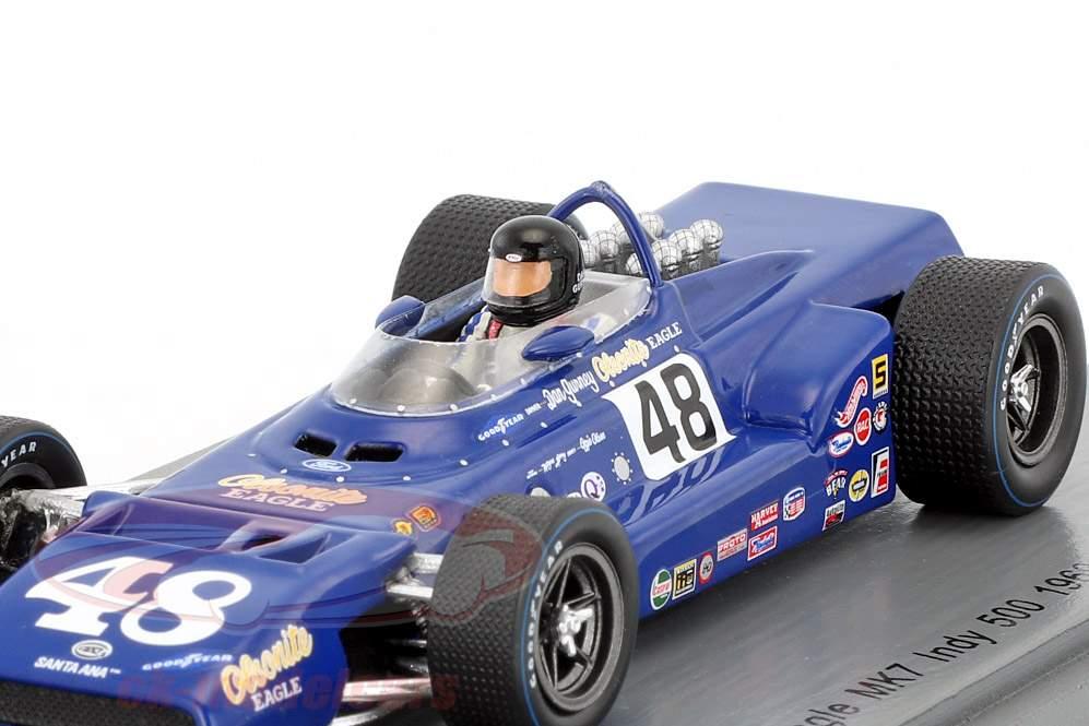 Dan Gurney Eagle MK7 #48 2 Indy 500 1969 1:43 Spark