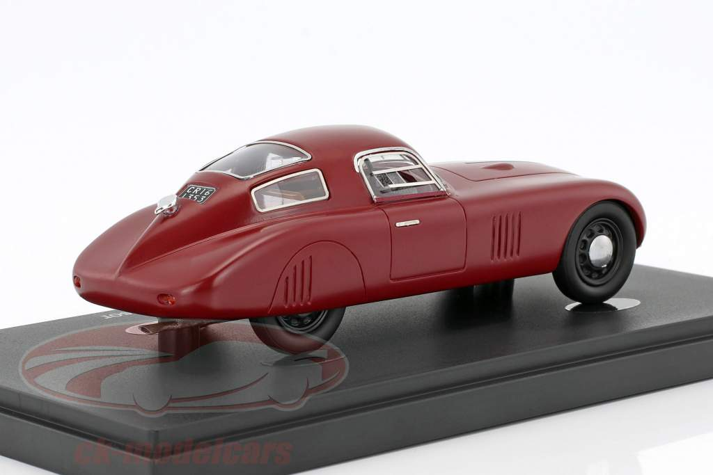 Fiat 1500 Barchetta Kompressor year 1943 red 1:43 AutoCult
