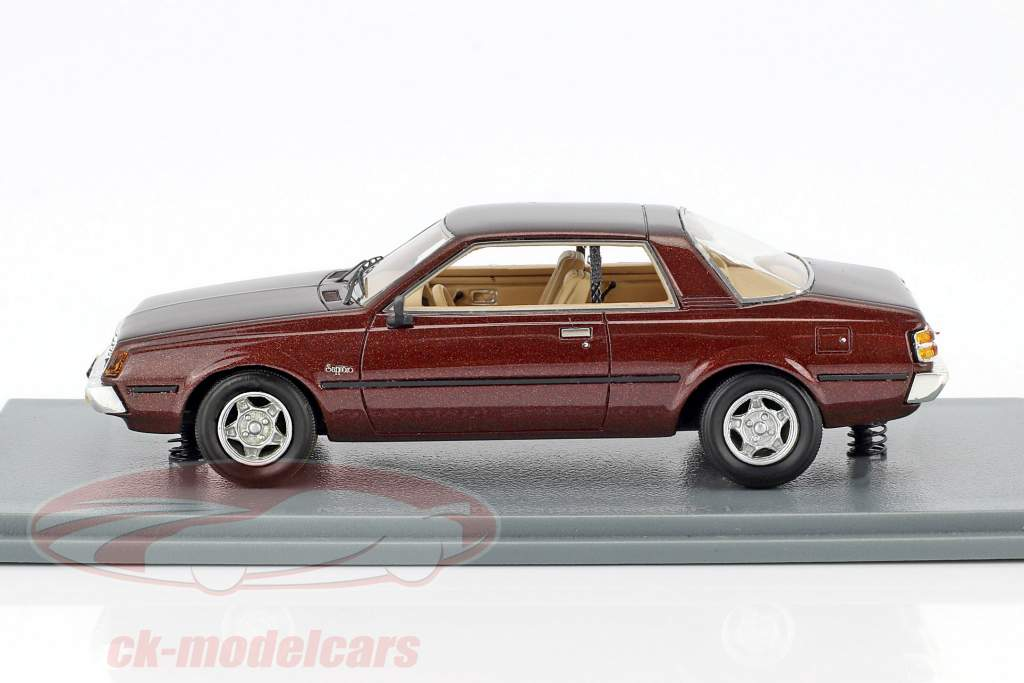 Mitsubishi Sapporo MKI Coupe year 1982 dark brown metallic 1:43 Neo